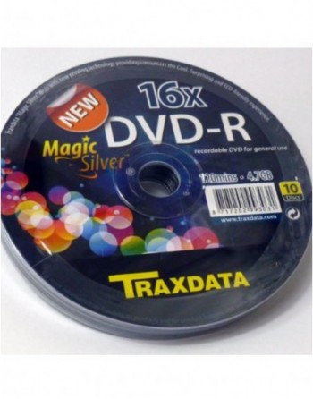 DVD-R 16X Traxdata Magic...