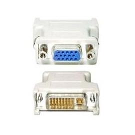 ADATTATORE DVI-A/VGA (24M/15F)