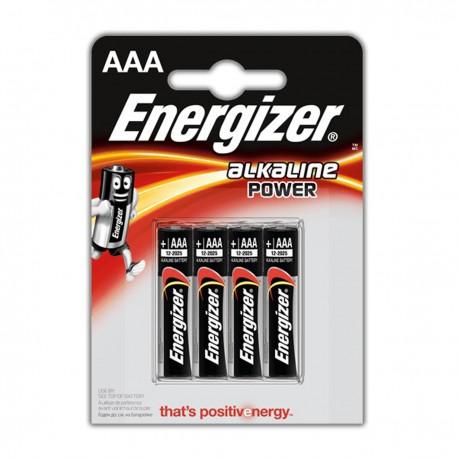 ENERGIZER ALKALINE max POWER mini stilo BLISTER4