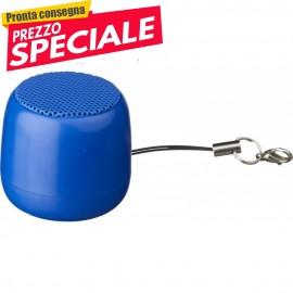Altoparlante portatile Mini clip Bluetooth® blu OEM
