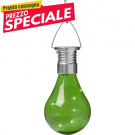 Lampada a LED verde solare ORNAMENTALE OEM