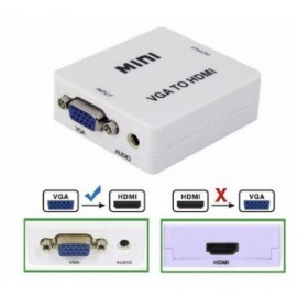 ADATTATORE CONVERTITORE VGA TO HDMI
