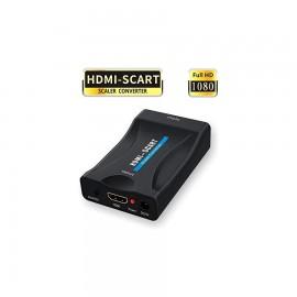 ADATTATORE CONVERTITORE HDMI TO SCART