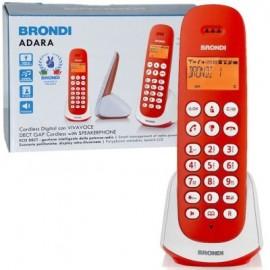 Cordless vivavoce Brondi Adara Red/white