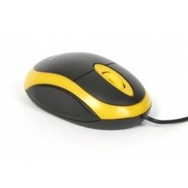 Mouse Usb 1200 Dpi Omega yellow