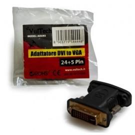 ADATTATORE VGA TO DVI 24+5 VULTECH