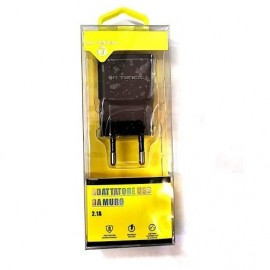 ALIMENTATORE 2 USB SMARTPHONE 2 A