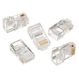 Plug 8P8C per cavo LAN solid 50 pz