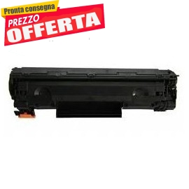 Toner XPP HP CB435A CB436A CE285A nero 3000pag.