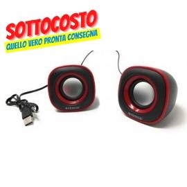 CASSE 10W BLACK USB Serie orius