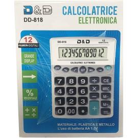 CALCOLATRICE DD-818 ELETTRONICA