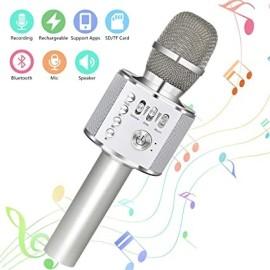 Microfono Karaoke Bluetooth con Speaker
