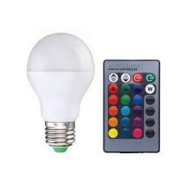 lampada + remoto Controllo VARI COLORI