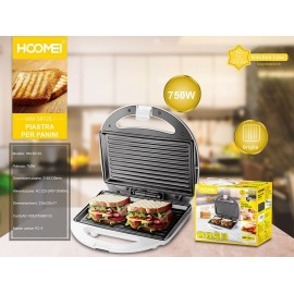 Piastra elettrica per Toast 750W HM-5812S