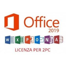 OFFICE 2019 PROFESSIONAL PLUS 2PC - Rigenerata