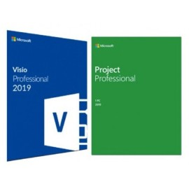 OFFICE VISIO & PROJECT 2019 PROFESSIONAL - Rigenerata