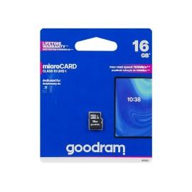 Scheda microSDHC GOODRAM CL10 UHS-I da 16 GB