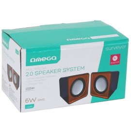 OMEGA SPEAKERS 2.0 OG-15 6W USB