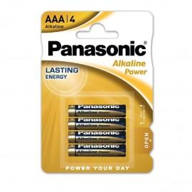 4 Batterie Stilo blister Panasonic