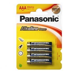 4 Batterie mini Stilo blister Panasonic