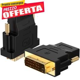 Adattatore DVI su HDMI, 1080P