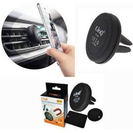 Supporto Cellulare per Auto bocchette aria magnetico Linq Porta Smartphone