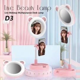 Lampada ad anello D3 Live Beauty Lamp