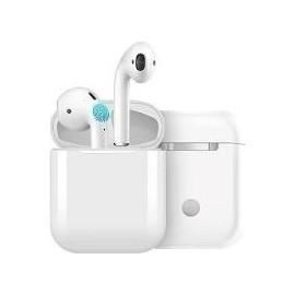 i12 Auricolari Wireless Bluetooth Stereo con Microfono - Bianca