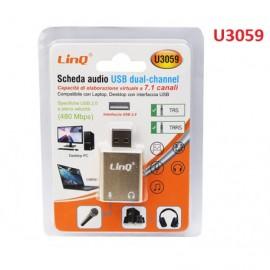 SCHEDA AUDIO USB - LINE-IN