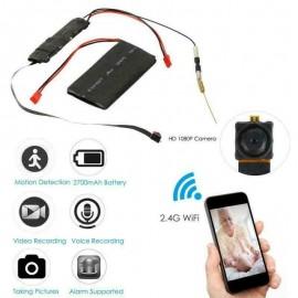 Micro telecamera wi-fi a a batteria