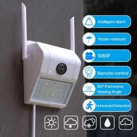 Videocamera IP impermeabile 1080P intelligente Lampada da parete