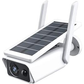 Telecamera con pannello solare wifi 2MPX infrarossi SD sensore