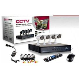 Kit sorveglianza CCTV 4 cam