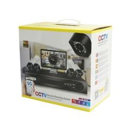 Kit sorveglianza 4 CAM 1080P