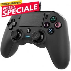 Gamepad PS4 black con filo
