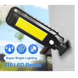 LAMPIONE / APPLIQUE SOLARE LED 210 COB