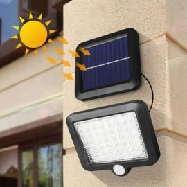 Luce Solare LED Esterno, 56 LED con Sensore di Movimento