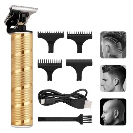 Professional t-blade hair clipper ricaricabile