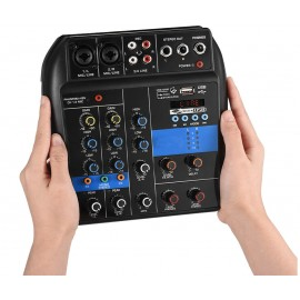 Mixer audio professionale 4 canali