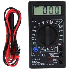 Tester Amperometro Voltmetro LCD portatile