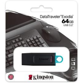 FLASH USB3.2 64GB KINGSTON EXODIA