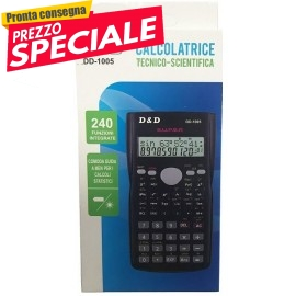 CALCOLATRICE SCIENTIFICA DD-1005