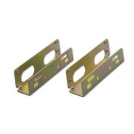 """Coppia Frame Universale In Metallo Con Viti Hd 3,5"""" Per Montaggio Su Alloggiamenti 5.25"""""""