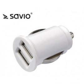 CARICATORE AUTO DOPPIA USB SA-03