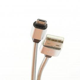 Cavo Micro USB 1mt metallico