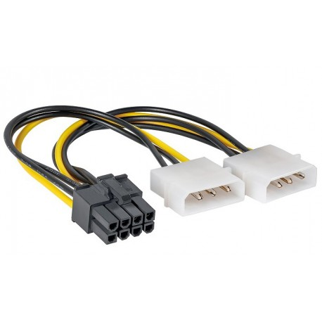 CAVO ADATTATORE MOLEX TO PCI-ECPRESS 8 PIN