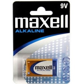 MAXELL BATTERY ALKALINE 9V