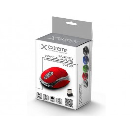 Wireless Optical Mouse 3D| 2.4 GHz| 1000 DPI| 3D| - RED