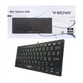 TASTIERA TECNO MINI USB TC808