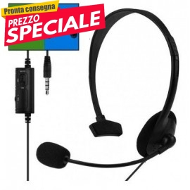 CUFFIE GAMING MONO PER PS4 PC XBOX ONE
